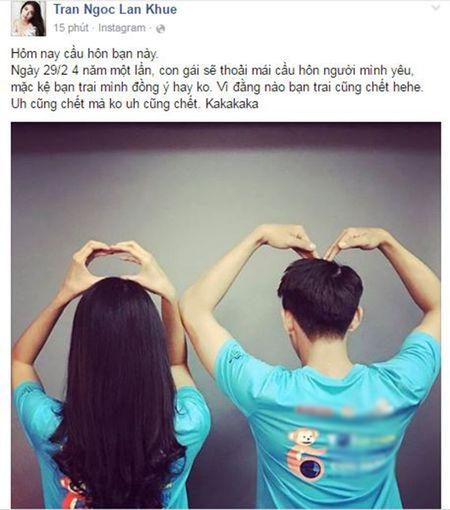 Lan Khue to tinh voi ban trai, Pham Huong keu goi fans vote cho HH Dominican - Anh 1