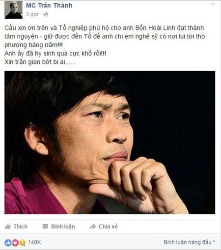 Nghe si Viet len tieng bao ve den tho To cua NSUT Hoai Linh - Anh 3