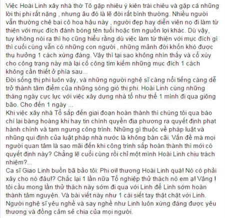 Nghe si Viet len tieng bao ve den tho To cua NSUT Hoai Linh - Anh 6