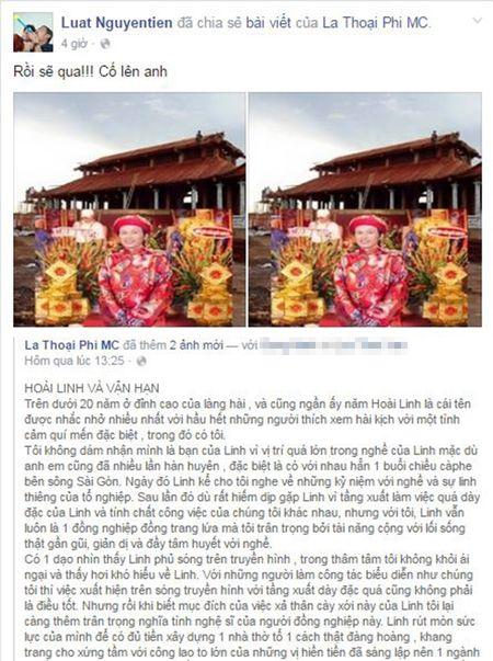 Nghe si Viet len tieng bao ve den tho To cua NSUT Hoai Linh - Anh 8