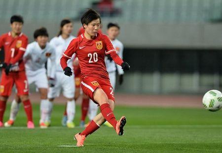 DT nu Viet Nam 'keu oan' ve 2 qua penalty trong tran thua Trung Quoc - Anh 1