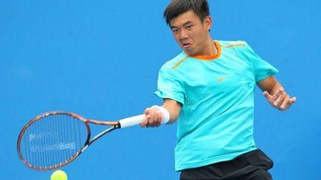 Tang 32 bac, Ly Hoang Nam lan dau tien vao top 900 ATP - Anh 1