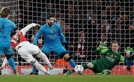 Liverpool bat ngo theo duoi tien ve ngoi sao cua Arsenal - Anh 1