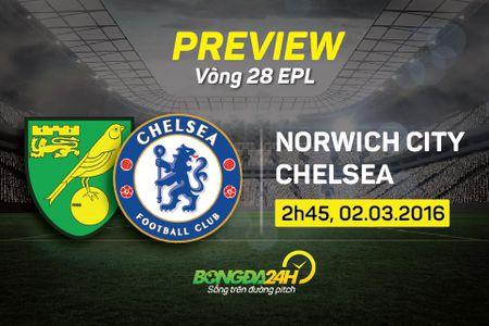 Norwich vs Chelsea (2h45 2/3): Tiep da thang hoa - Anh 1
