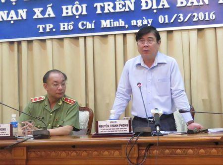 Chu tich TP HCM: 'Khong cho toi pham co dat song' - Anh 1