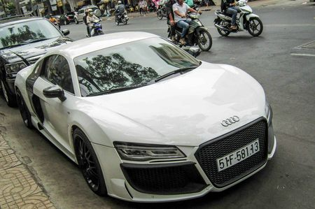 Audi R8 V10 tai Sai Gon do goi than vo den tu Duc - Anh 3