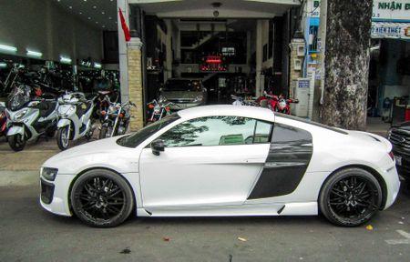 Audi R8 V10 tai Sai Gon do goi than vo den tu Duc - Anh 4