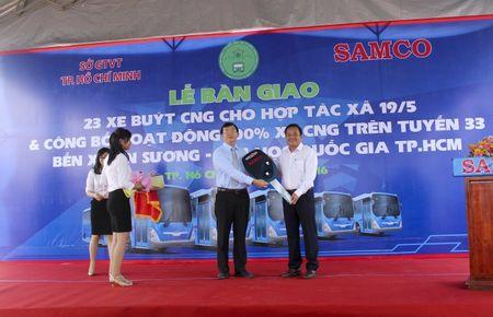 TP HCM dua 23 xe buyt su dung nhien lieu sach vao hoat dong - Anh 2