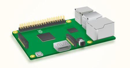 Raspberry Pi 3 nang cap tinh nang, gia van giu nguyen - Anh 1
