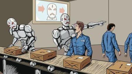Nhan cong gia re mat viec vi robot - Anh 2