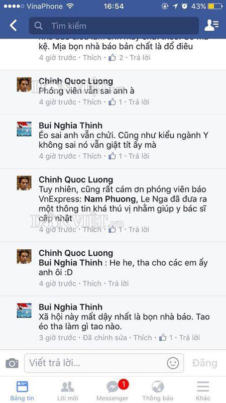 Phong vien buc xuc vi bac si ao uoc 'ca nganh bao yen nghi' - Anh 2