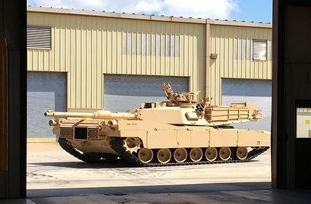 Vach tinh nang bi giau kin tren sieu tang M1 Abrams My - Anh 2