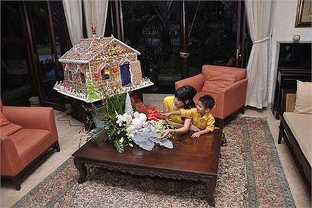 Ha Kieu Anh song vien man nhu ba hoang trong can biet thu trieu USD - Anh 14