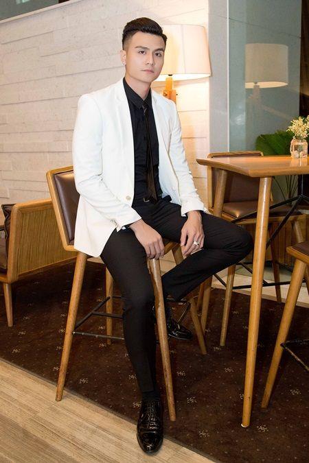 Vinh Thuy dien trai hut hon trong buoi hop bao The Face - Anh 6