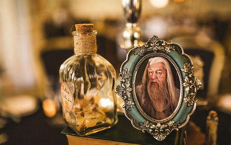 [Hinh anh] Dam cuoi duoc trang hoang theo phong cach Harry Potter - Anh 31