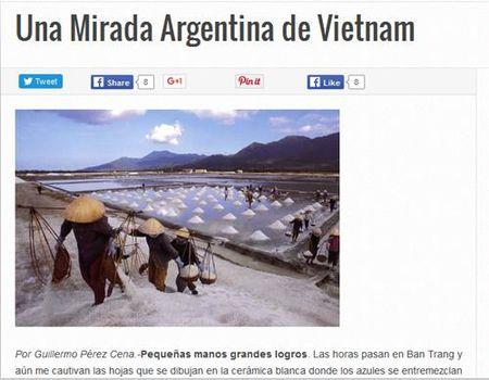 Bao Argentina ca ngoi dat nuoc va con nguoi Viet Nam - Anh 1
