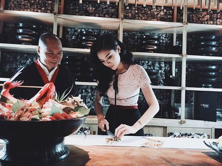 Sao Viet 12/6: Ky Duyen tro tai lam sushi, Si Thanh vong 3 cong vut - Anh 7