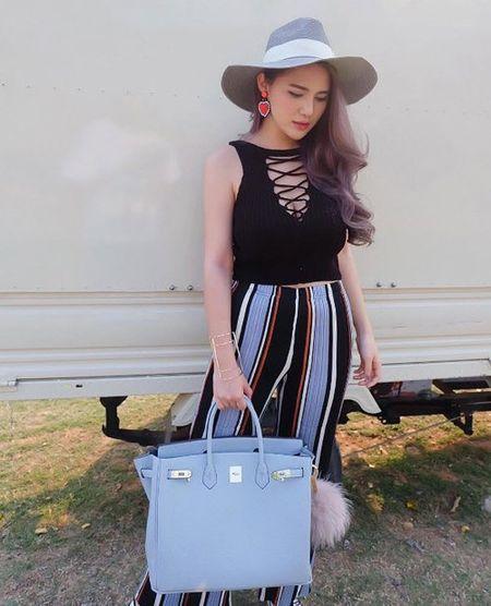'Hot girl trieu phu' Thai Lan noi tieng an choi, sanh dieu - Anh 11