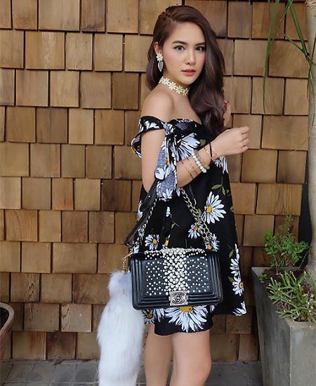 'Hot girl trieu phu' Thai Lan noi tieng an choi, sanh dieu - Anh 12