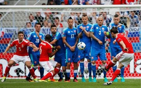 Highlight: DT xu Wales 2–1 DT Slovakia (Bang B, Euro 2016) - Anh 1