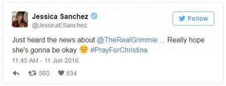 Loat sao tiec thuong truoc su ra di cua nu ca si Christina Grimmie - Anh 3