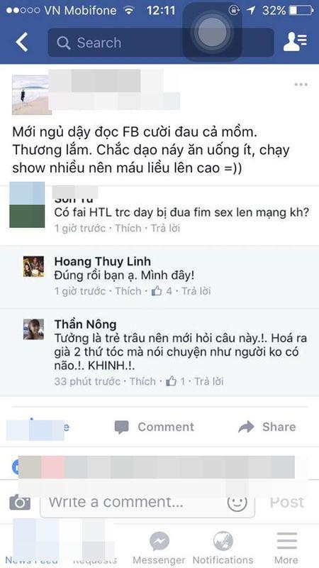 HOT: Ban trai len tieng ve scandal qua khu cua Hoang Thuy Linh - Anh 1