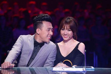 """Tran Thanh """"boc hoa""""vi Hari Won tung """"an dam nam de"""" voi Son Tung - Anh 2"""