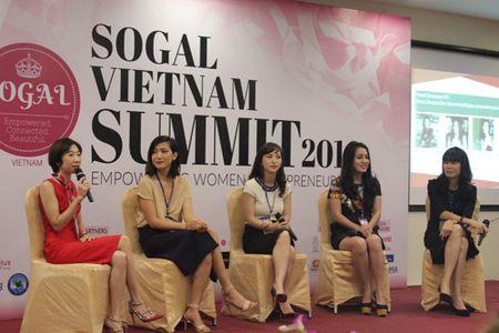 Sogal Vietnam Summit 2016: Khoi nghiep cung nu gioi - Anh 4