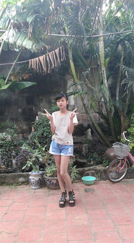 Con gai Hiep Ga 12 tuoi da duoc khen mat xinh, chan dai - Anh 2