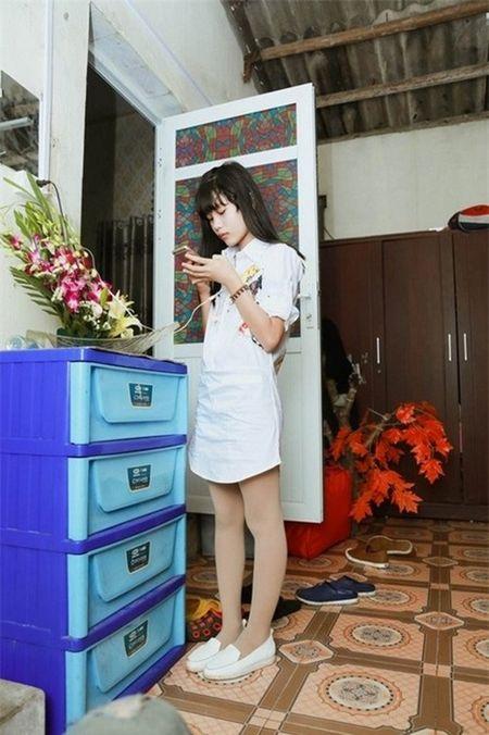 Con gai Hiep Ga 12 tuoi da duoc khen mat xinh, chan dai - Anh 6