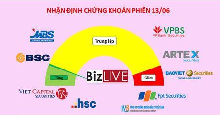 Nhan dinh chung khoan 13/6: Dieu chinh cung khong phai so - Anh 1