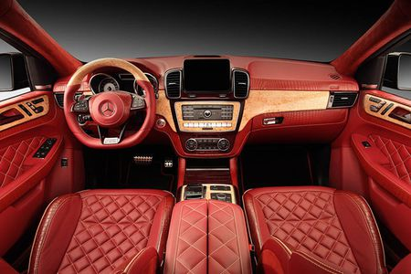 TopCar do noi that Mercedes GLE Coupe phong cach ca sau do - Anh 1
