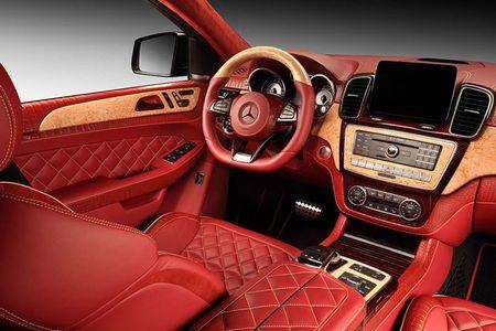 TopCar do noi that Mercedes GLE Coupe phong cach ca sau do - Anh 2