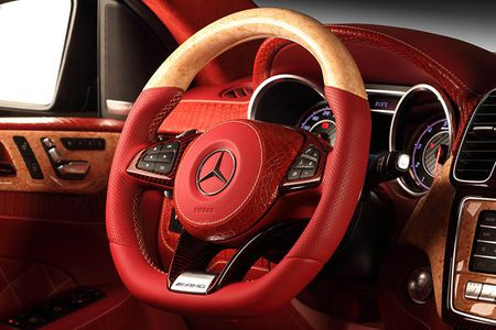 TopCar do noi that Mercedes GLE Coupe phong cach ca sau do - Anh 8