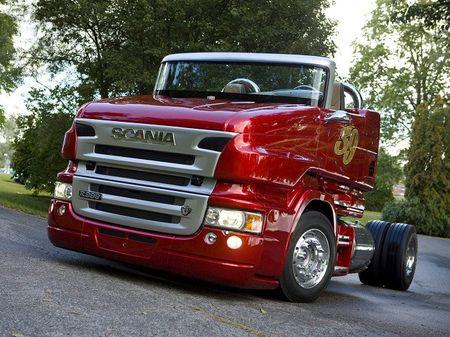 Scania R999 V8 RP - sieu xe tai mui tran 1.000 ma luc - Anh 1