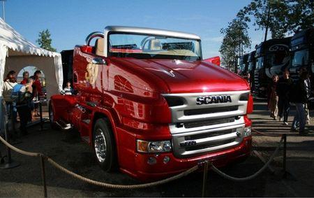 Scania R999 V8 RP - sieu xe tai mui tran 1.000 ma luc - Anh 4