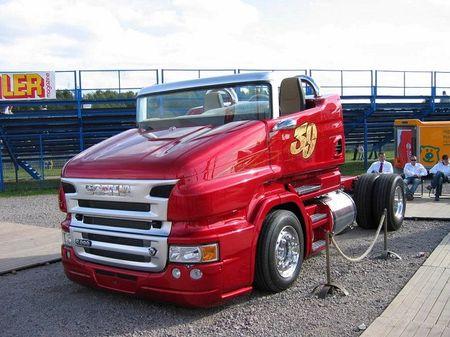 Scania R999 V8 RP - sieu xe tai mui tran 1.000 ma luc - Anh 5