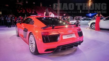"Chiem nguong Audi R8 - ""2016 World Performance Car"" tai Audi Progressive - Anh 6"
