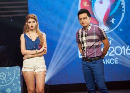 Andrea Aybar dam nhiem vai tro MC chuong trinh 'Nong cung Euro' - Anh 6