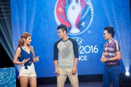 Andrea Aybar dam nhiem vai tro MC chuong trinh 'Nong cung Euro' - Anh 7