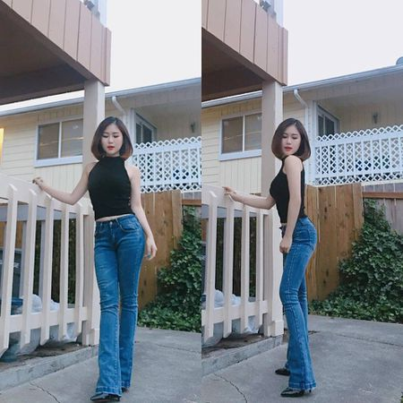 Huong Tram khac phuc nhuoc diem nam lun voi vay ao - Anh 5