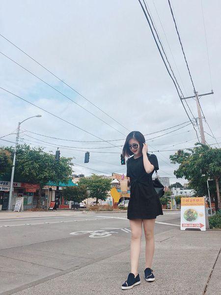 Huong Tram khac phuc nhuoc diem nam lun voi vay ao - Anh 6