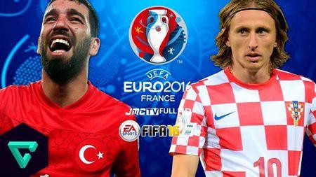 Truc tiep Tho Nhi Ky vs Croatia - Anh 1