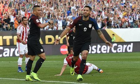 My - Paraguay (1-0): Chu nha vao tu ket - Anh 1