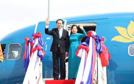 Chu tich nuoc den Vieng Chan, bat dau tham cap Nha nuoc Lao - Anh 1