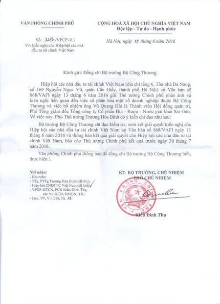 Vu bo nhiem ong Vu Quang Hai:Cho cau tra loi thoa dang - Anh 1