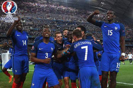 Vao chung ket EURO 2016, DT Phap thiet lap ky luc moi - Anh 1