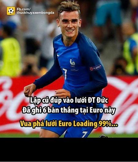 Anh che ban ket Euro 2016: Antoine Griezmann hoa sieu anh hung - Anh 1