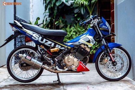 "Suzuki Raider 150 do cung ""hut hon"" dan choi Viet - Anh 1"