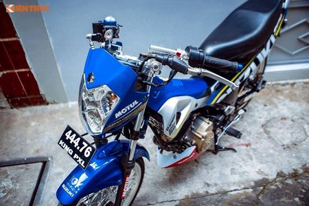 "Suzuki Raider 150 do cung ""hut hon"" dan choi Viet - Anh 7"